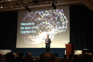 "Dr. John Kelly's ""Future of Computing"" keynote, introducing our #CognitiveEra"