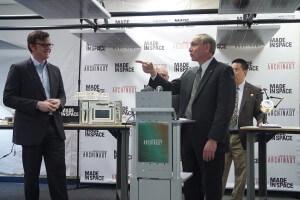 Andrew Rush (left) and Steve Jurcyk (right).