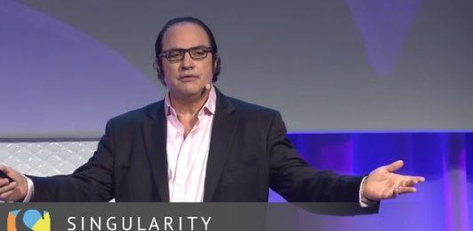 neil-jacobstein-speaking-at-singularity-university-inaugural-global-summit