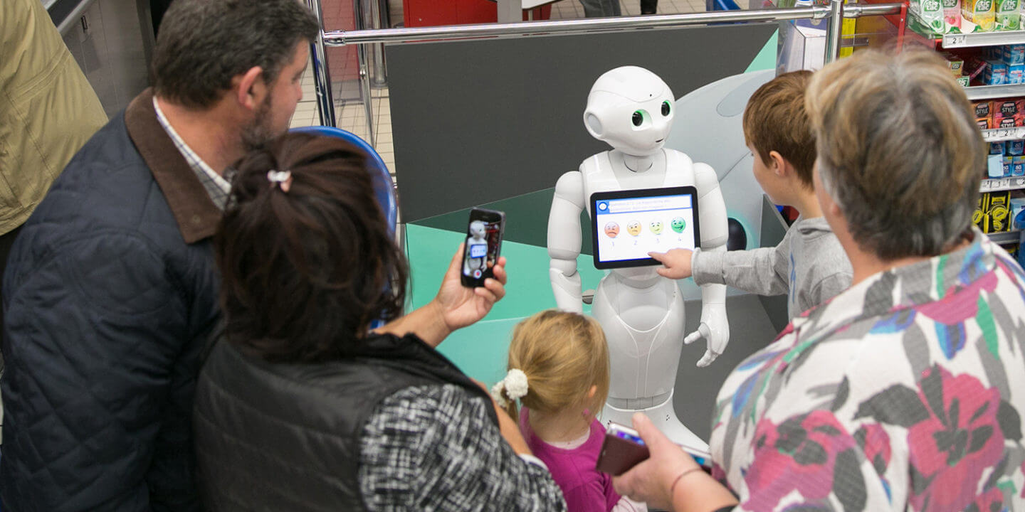 Adorable Robot Assistant Pepper Now Available in the US
