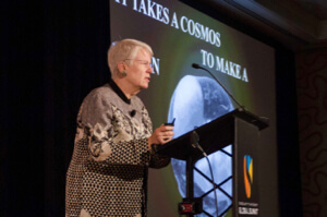 Jill Tarter at the Singularity University Global Summit in San Francisco.