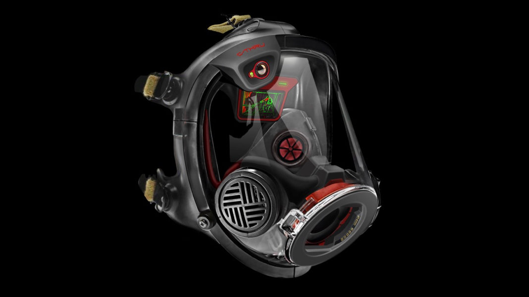 baab553a40c2 This Augmented Reality Helmet Helps Firefighters See Through Smoke to Save  Lives