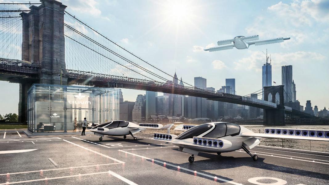 Lilium-autonomous-aerial-vehicle-personal-transport-drone