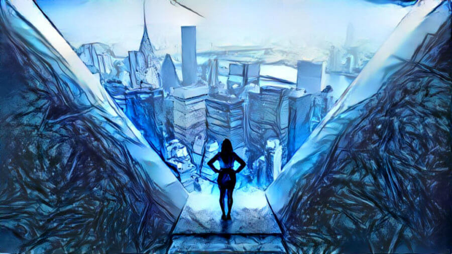 businesswoman-looking-at-cityscape-artistic-deep-dream-survival-skills-future-67639853