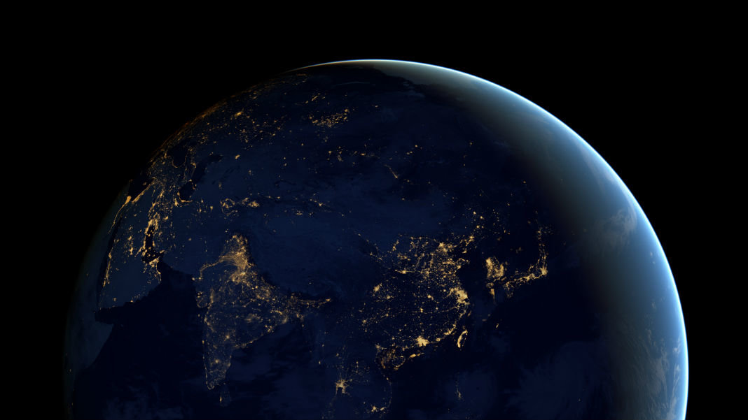 city-lights-Asia-Earth-at-night-satellite-view-artificial-intelligence-Ray-Kurzweil-video