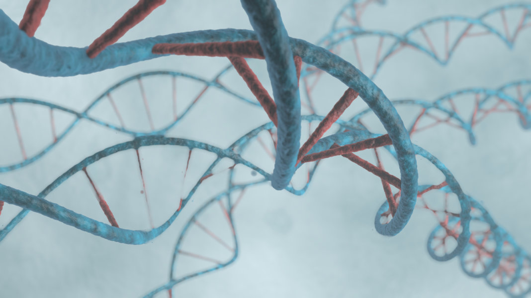 genetics-dna-strings-3d-rendering