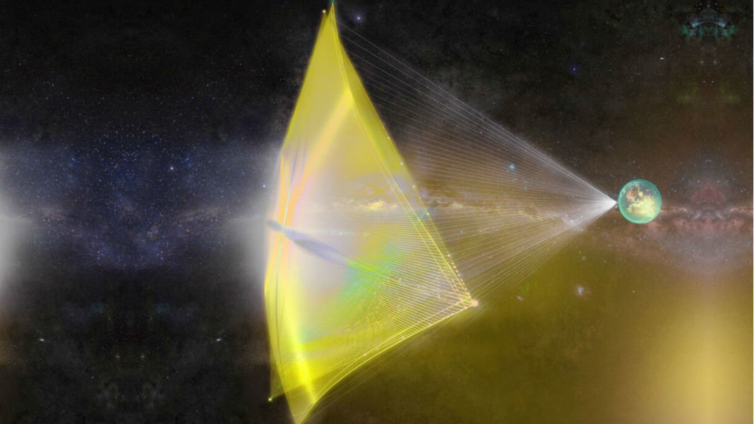 light-sail-laser-spaceship-futuristic-spacecraft-Breakthrough-Starshot