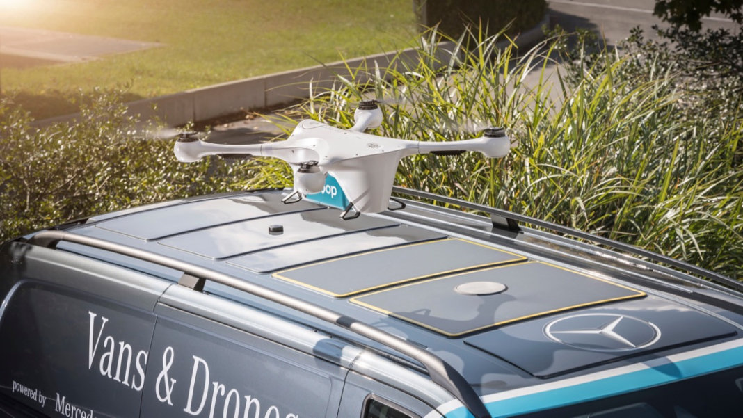 drone-on-roof-car-Matternet-Mercedes-Benz-van