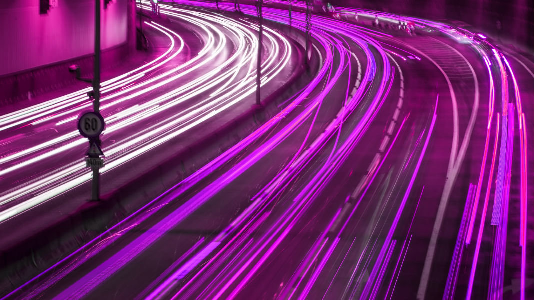 purple-colorful-light-trace-night-traffic-city