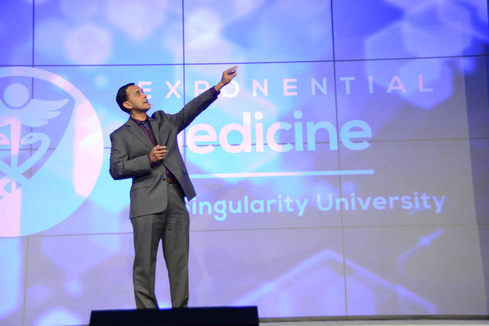 Darshak-Sanghavi-speaking-Exponential-Medicine-Singularity-University-2017-XMED