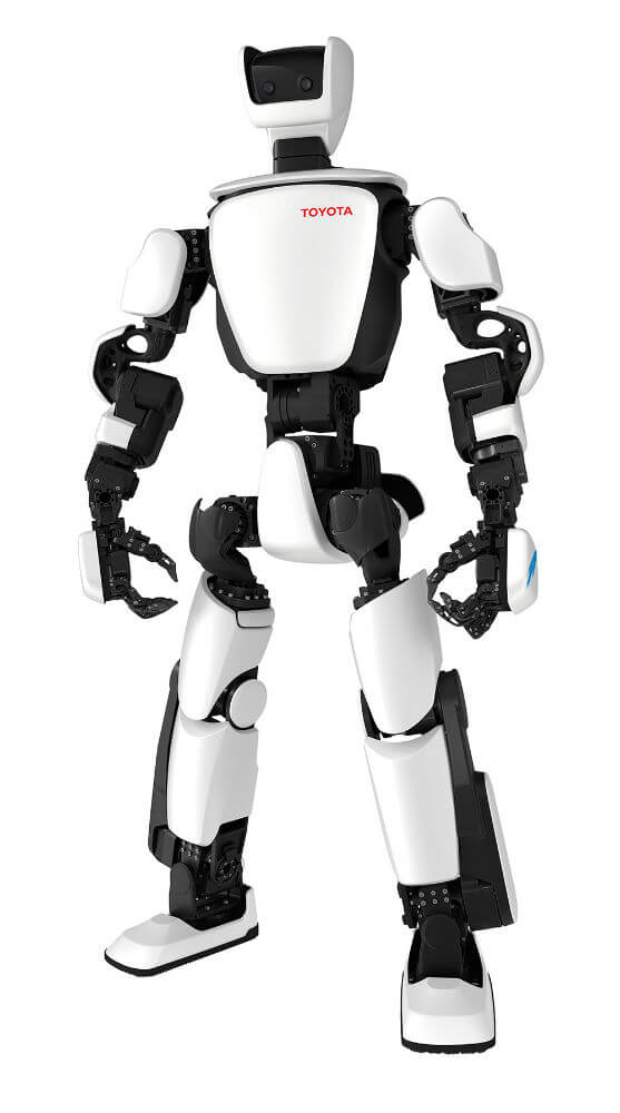 toyota t hr3 robot humanoid robotics singularity hub. Black Bedroom Furniture Sets. Home Design Ideas