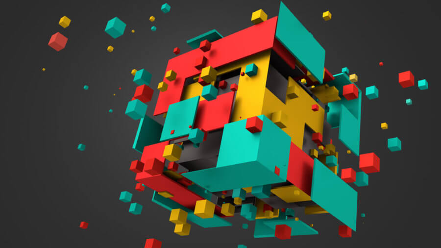 Awesome Tech Stories Illustration Abstract 3d Rendering