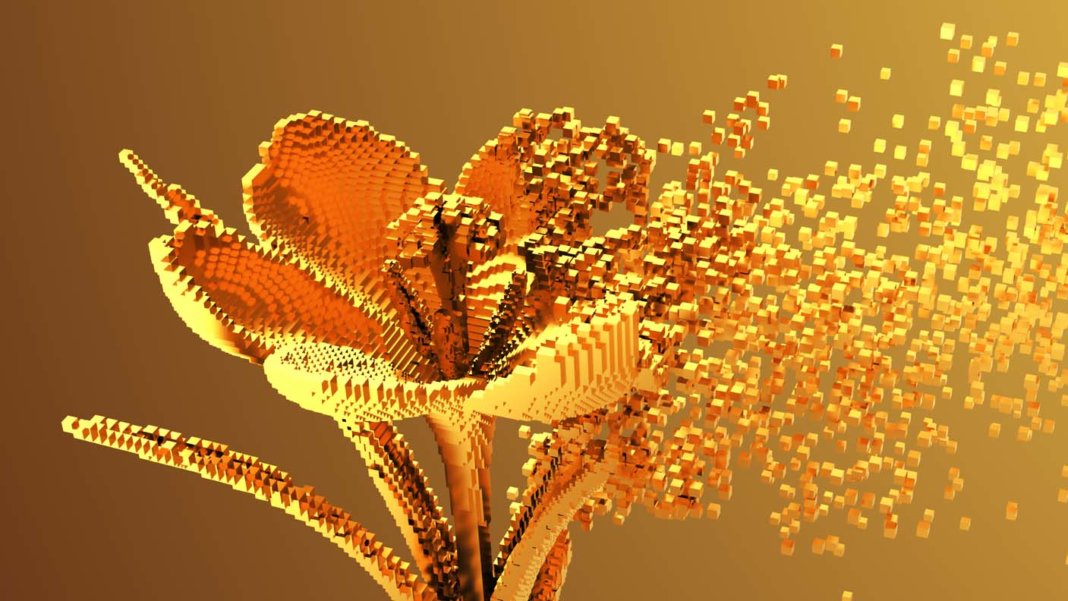 nanofabricator-nanotechnology-machine-gold-digital-nano-flower-3d-pixels-727891585