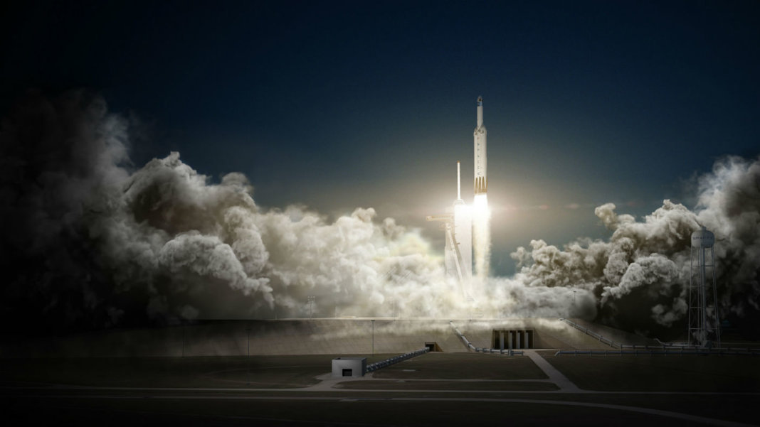 SpaceX-Falcon-Heavy-and-Dragon-awesome-tech-stories