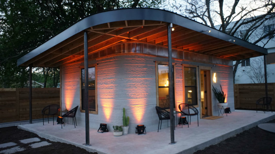 This 3d printed house goes up in a day for under 10 000 for 3d printer house for sale