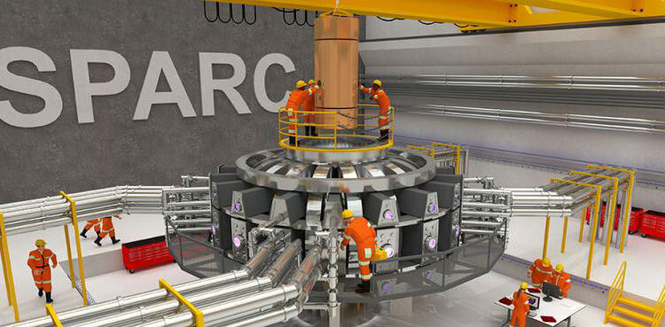 MIT-SPARC-Commonwealth-Fusion-Technologies-nuclear-fusion-tokamak-reactor