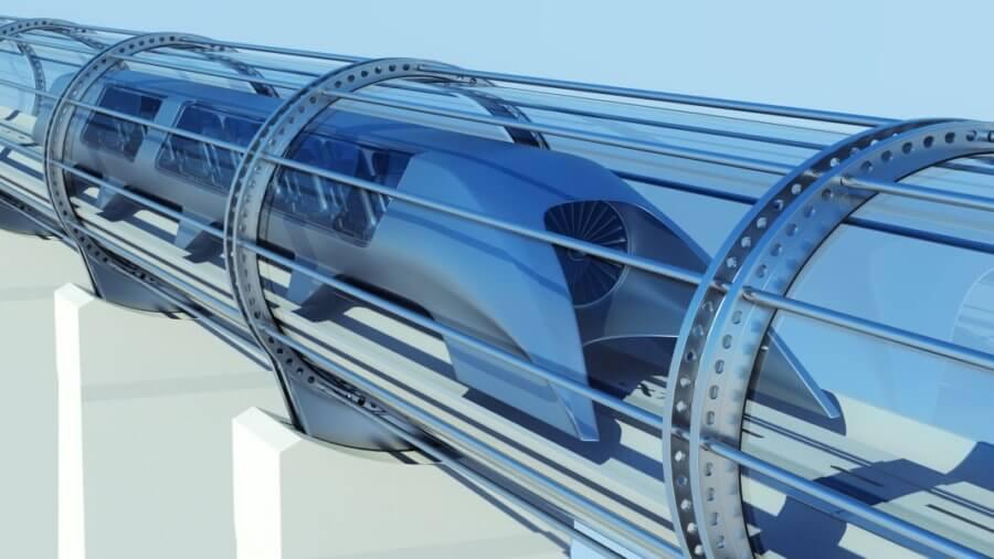 hyperloop-monorail-futuristic-train-tunnel-3d-illustration