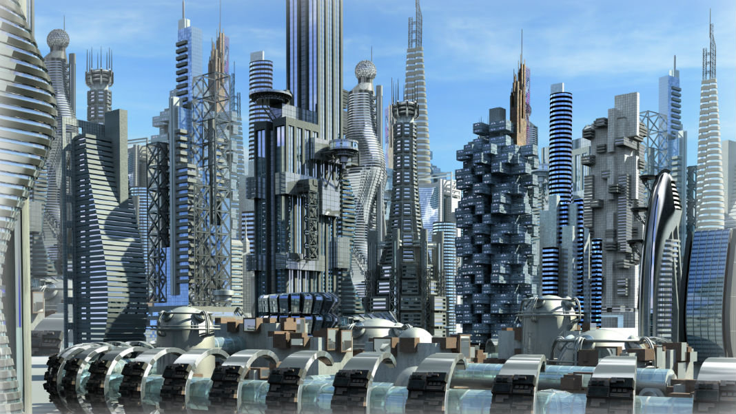robot-cities-science-fiction-urban-city-glass-metallic-structures