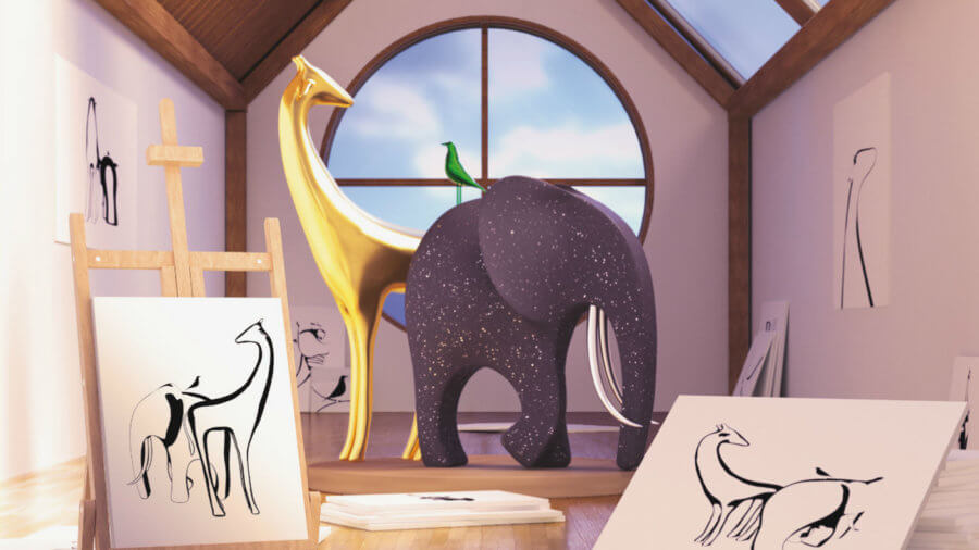 deepminds-deep-learning-algorithm-imagines-3d-scenes-from-pictures-giraffe-elephant.