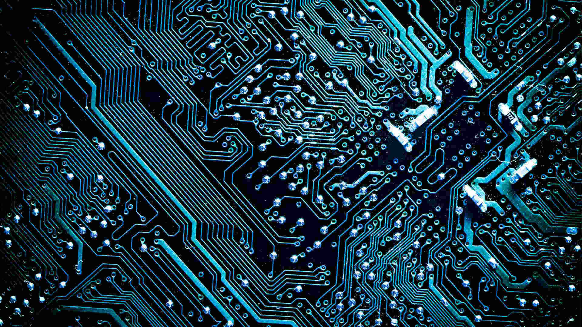 The 4 Waves Of Ai Who Will Own Future Technology Blue Circuit Board Label