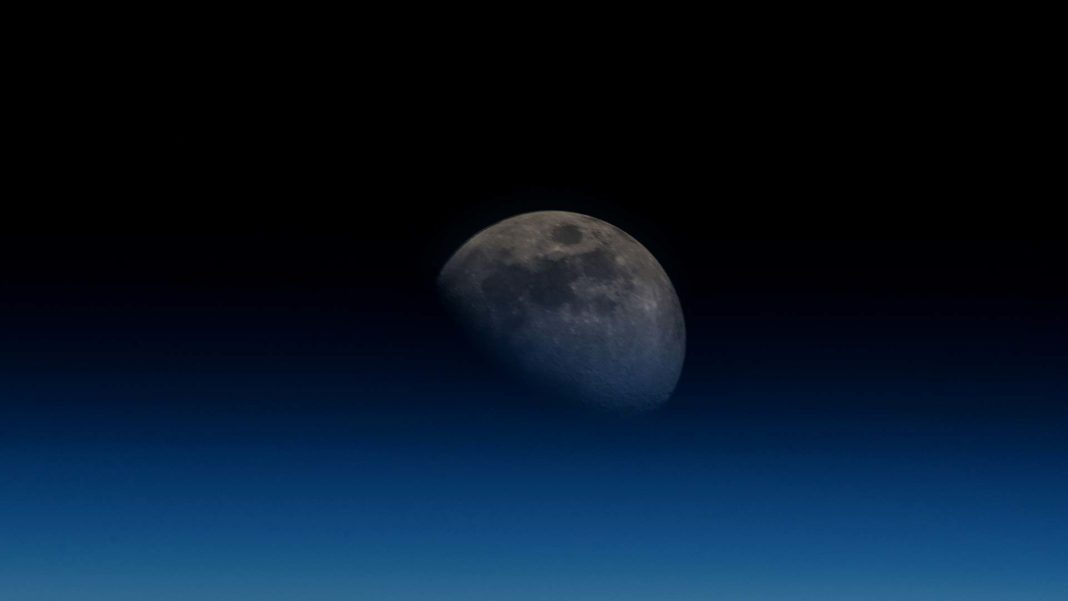 NASA closer view of moon