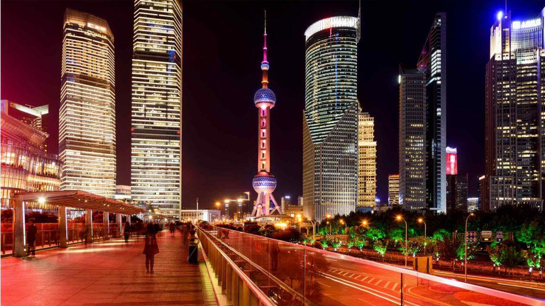 Modern Shanghai China Cityscape