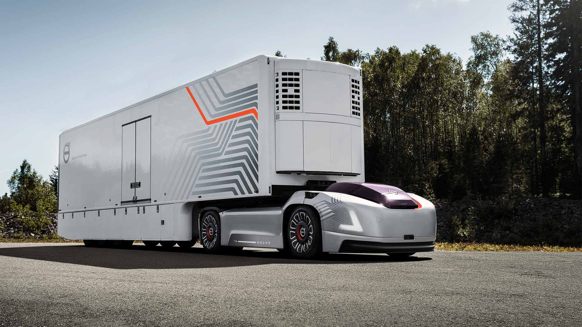 No Safety Driver HereVolvos New Driverless Truck Cuts the Cab