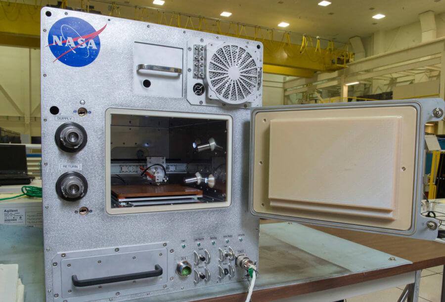 NASA ISS Refabricator