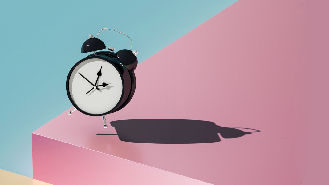 geometry color clock
