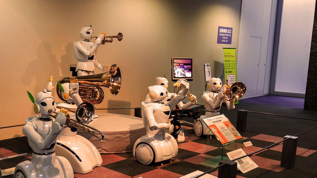Japan Toyota robots 2016