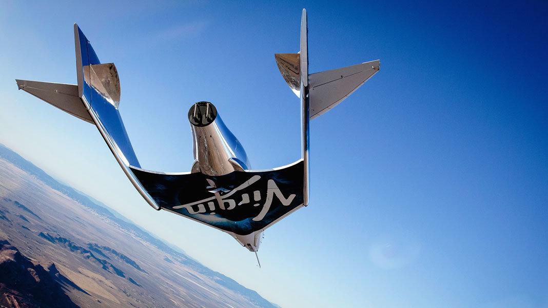 Virgin Galactic VSS Unity first glide flight