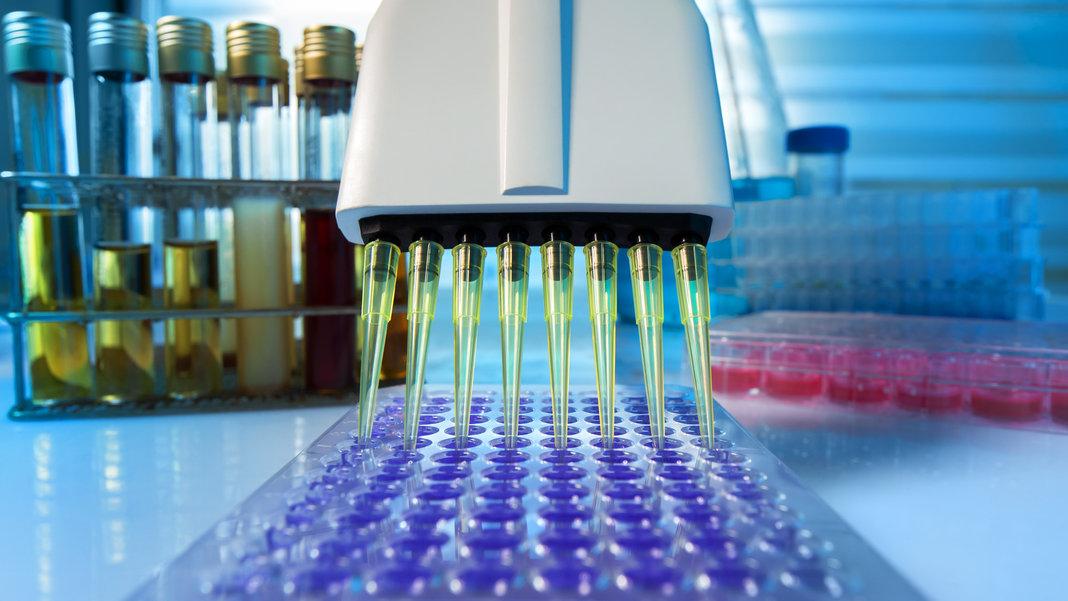science laboratory pipettes