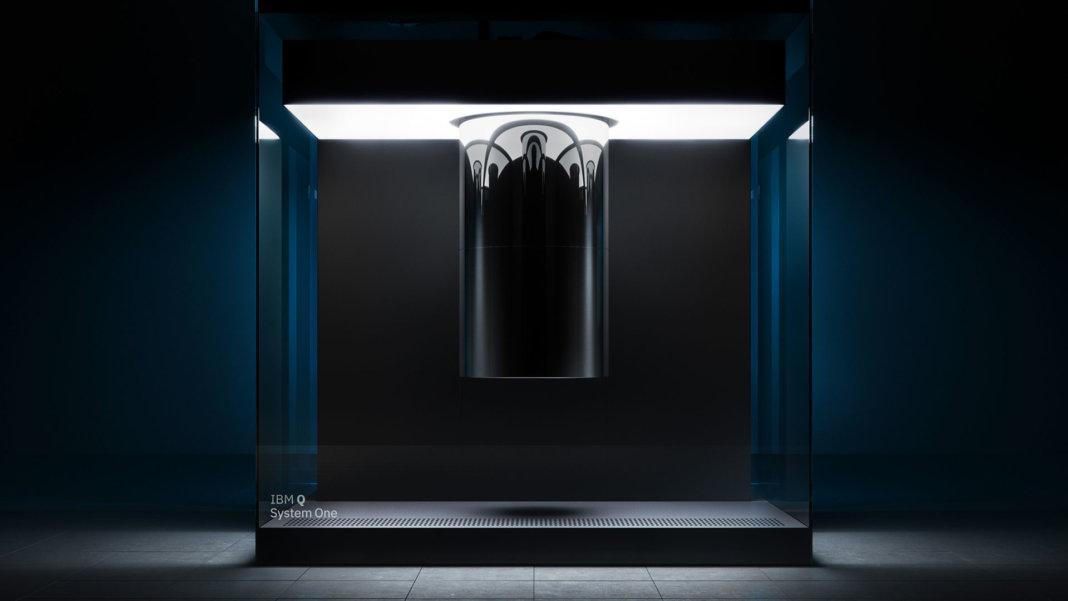 IBM research Q System One quantum computing