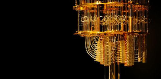 IBM q dilution refrigerator quantum computing