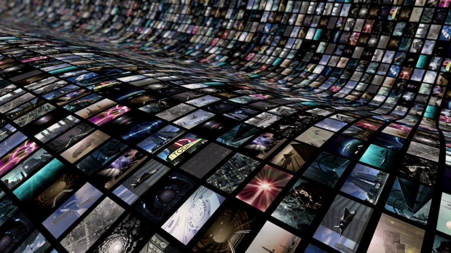 3D curved video wall entertainment artificial intelligence Peter Diamandis