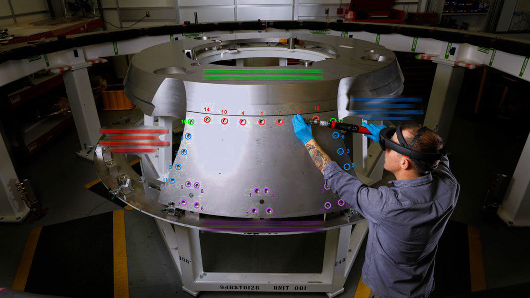 Lockheed Martin using Scope AR in spacecraft augmented reality future of work
