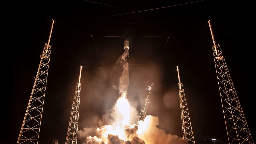 liftoff of beresheet spacex