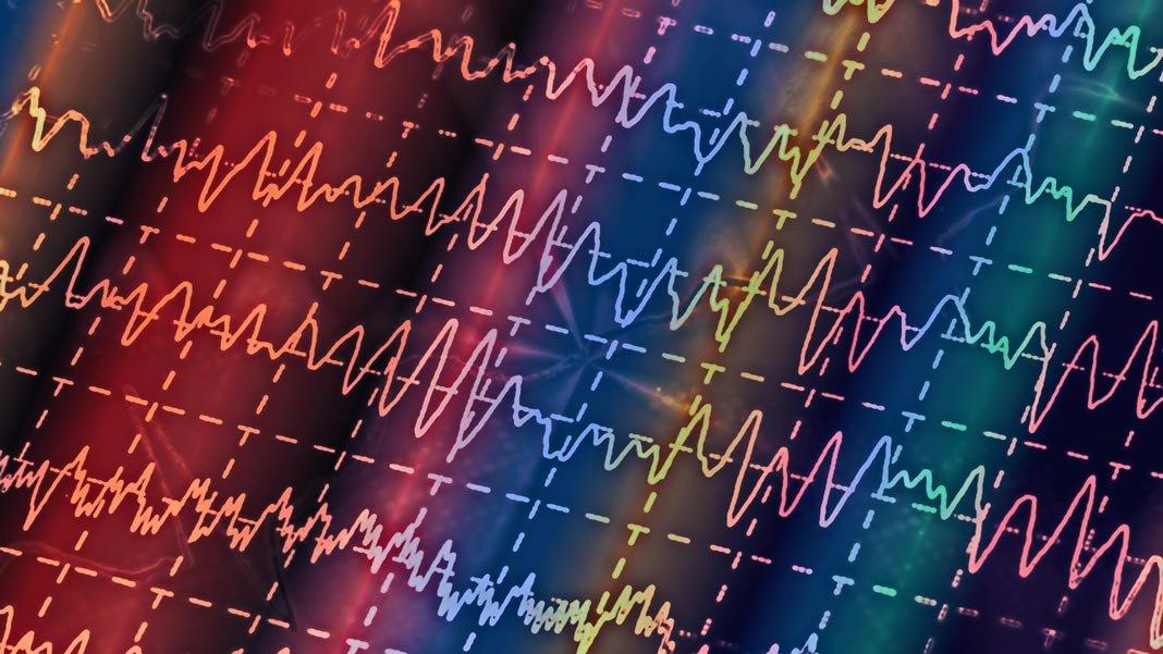 brain wave on eeg neuroscience