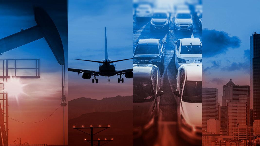 energy transportation rising economy collage Peter Diamandis