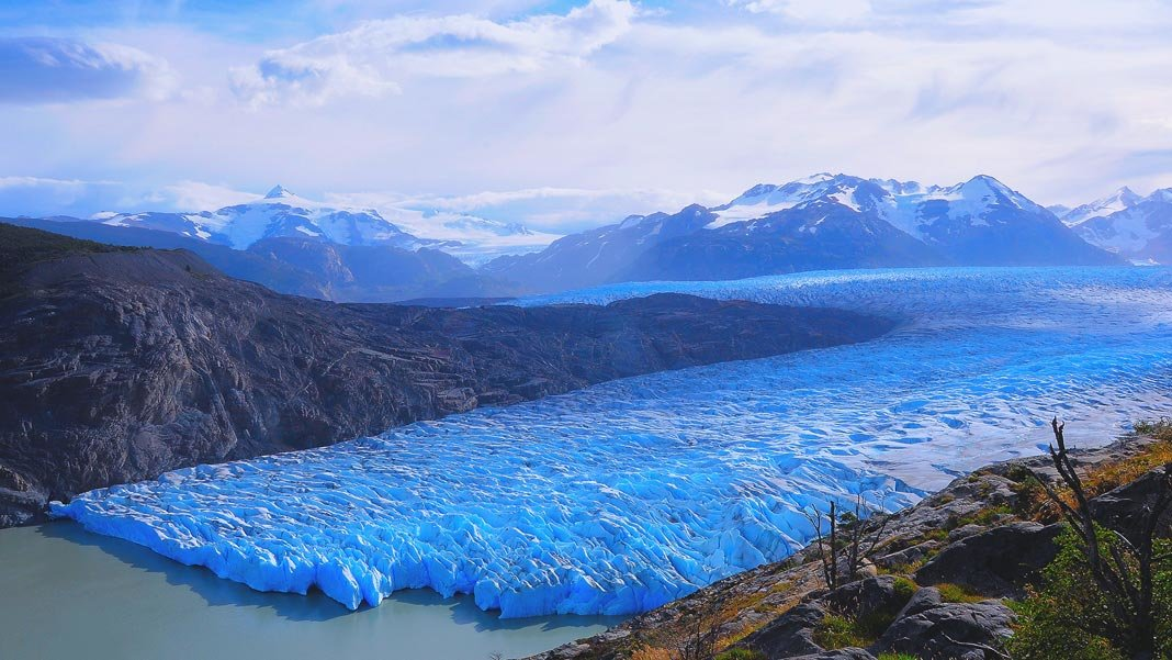 grey glacier climate change environment