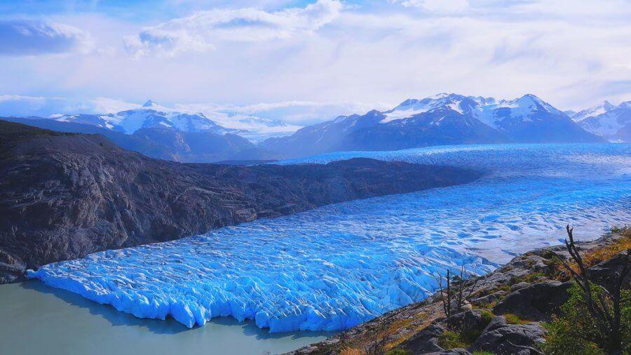 grey glacier climate change environment