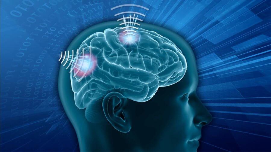 DARPA N3 concept art Brain-Computer Interface