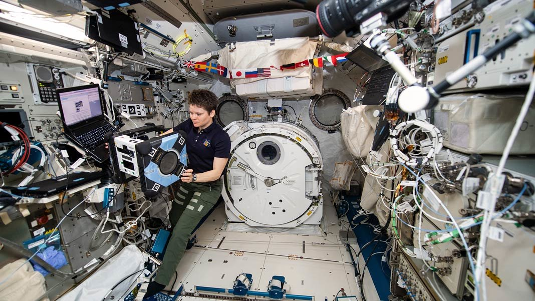 NASA Astrobee astronaut Anne McClain space