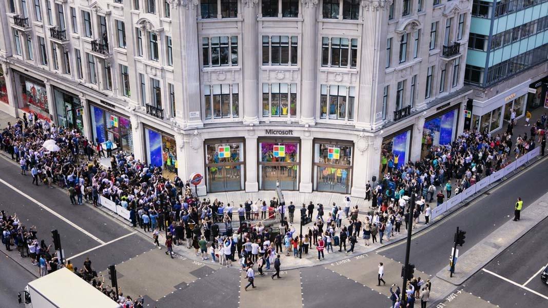 Microsoft London flagship store Computing