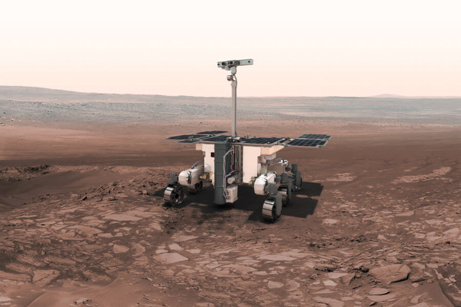 Space Exomars Rover