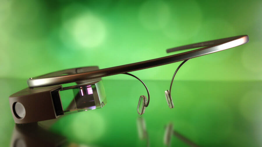 Google glass photo augmented reality