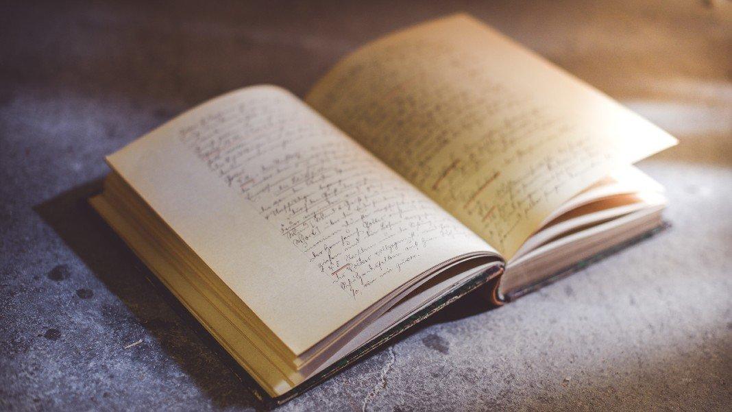 artificial intelligence old handwritten book