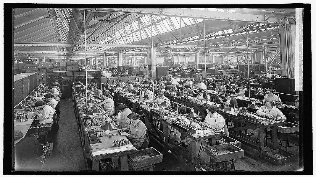 atwater kent assembly line future of work economics