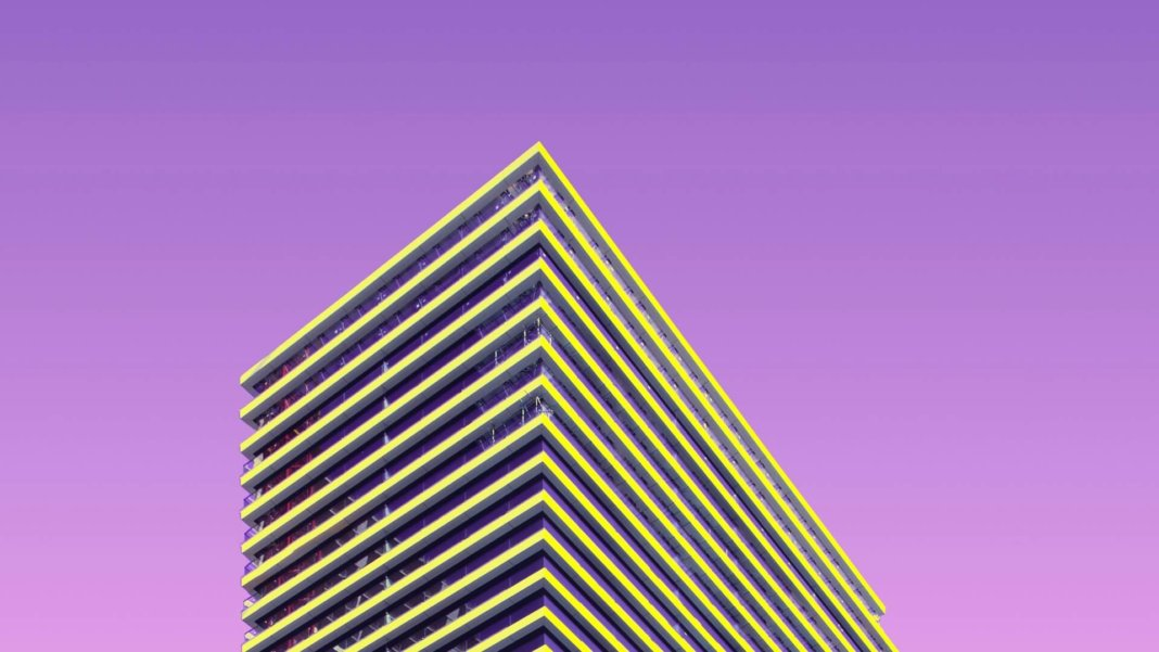 tech stories angular architecture building purple sky