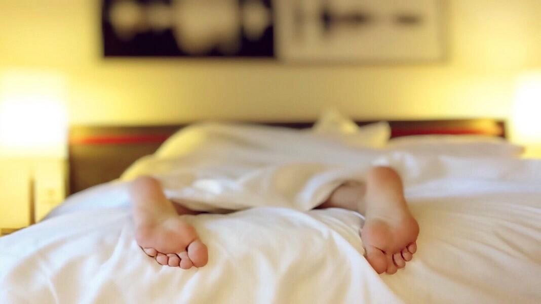 hacking sleep sleeping person on bed